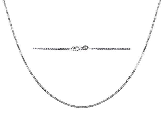 1.25mm Spiga Chain-Hollow