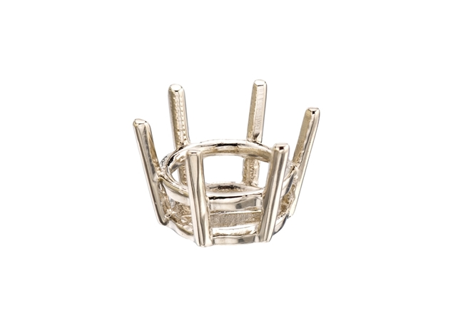 6 Prong Basket Earring