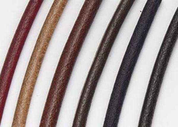2mm Round Leather Cord-2 meter