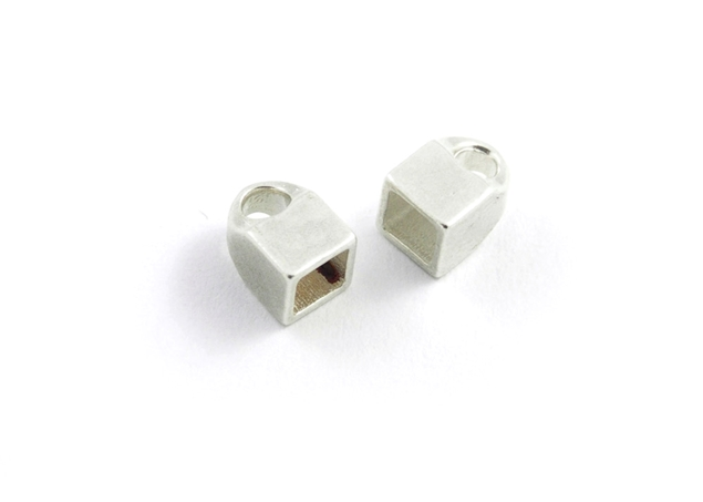 Square Close End Caps-2 pcs