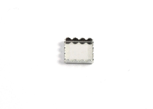 Square Bezel Cup Ornamented-14 pcs