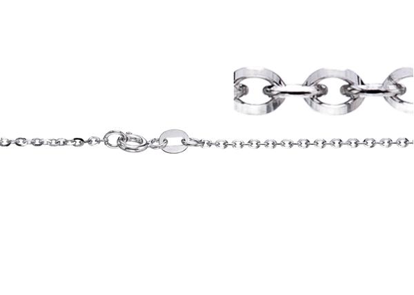 1.7mm Diamond Cut Belcher Chain-By Foot