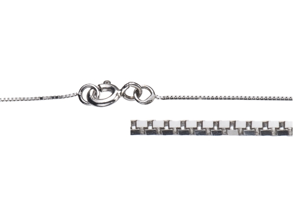 0.8mm Box Necklace