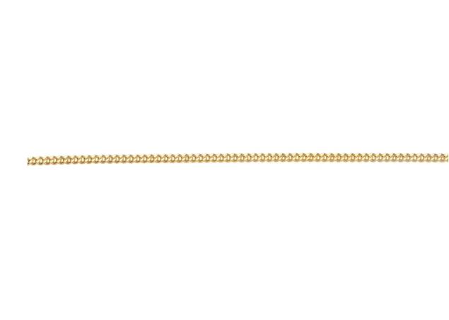 2.4mm Diamond Cut Figaro Chain-by Foot