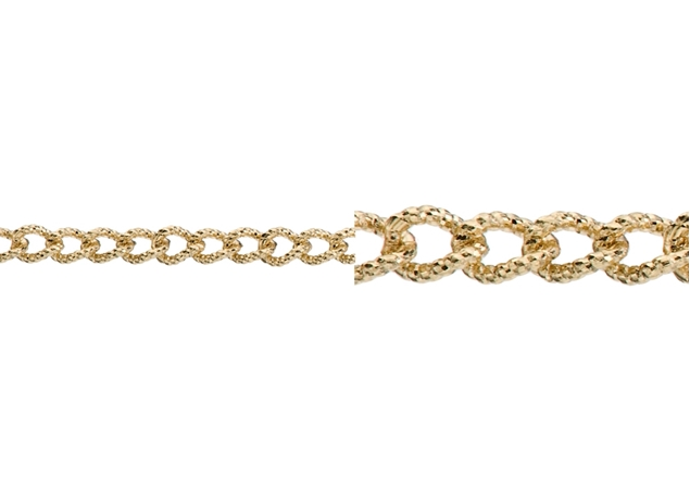 2.8X2mm Men Figaro Chain