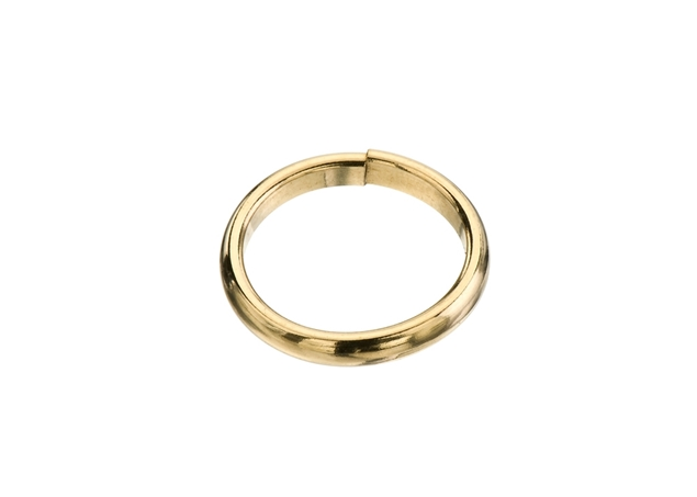 Half Round Comfort Fit Wedding Band