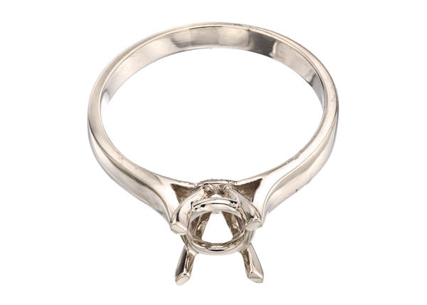 Cathedral Solitaire Engagement Rings