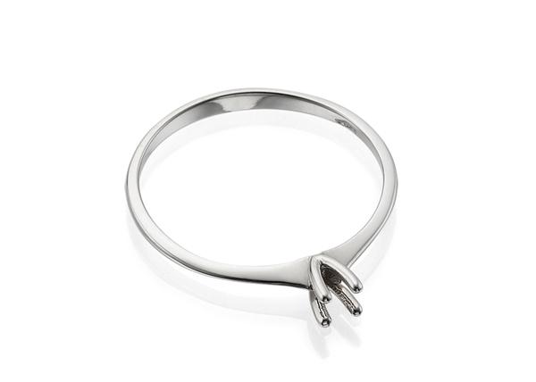 4 Prong Engagement Ring Setting