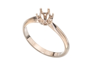 6 Prong Solitaire Ring