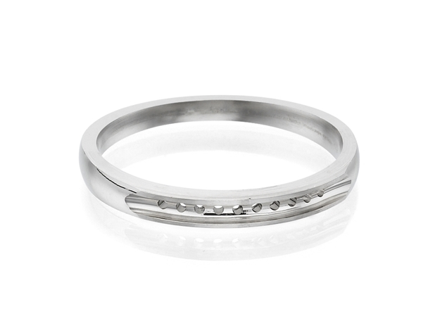 Half Eternity Anniversary Ring