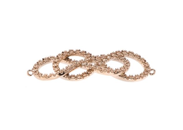 Infinity Diamond Pendant-24.75x8.6mm