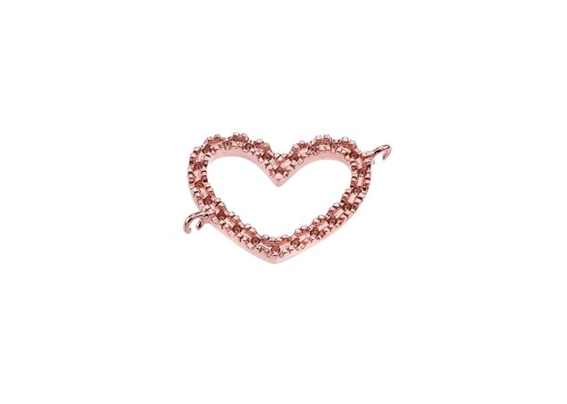 Diamond Infinity Heart Pendant