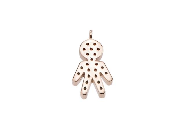 Diamond Infinity Male Pendants