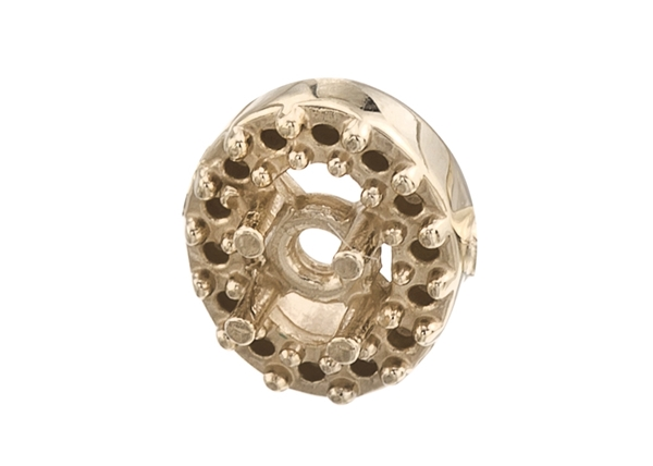 Oval Diamond Cluster Pendants
