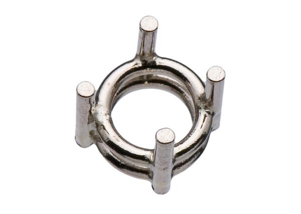 4-Prong Round Diamond Settings