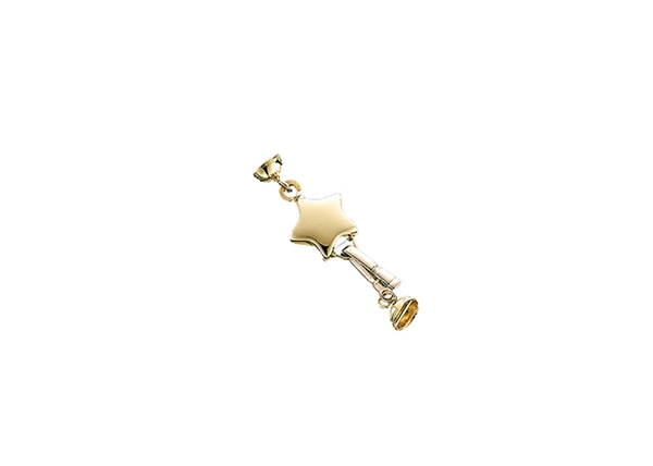 Star Pearl Clasp 1 Line