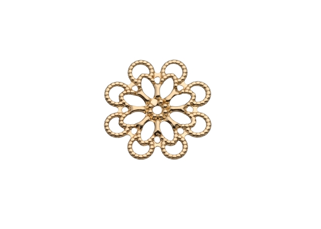 Filigree Flower Disk