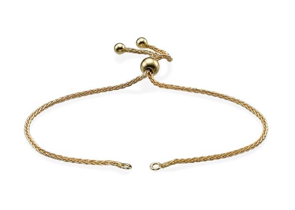 1.3mm Adjustable Spiga Bracelet