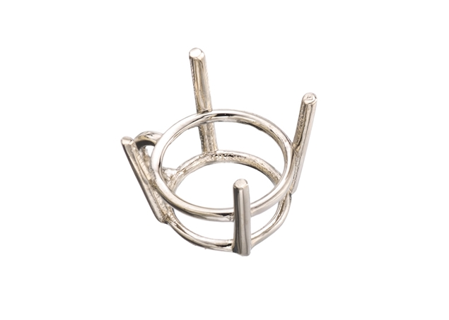 4 Prong Basket Pendant Setting
