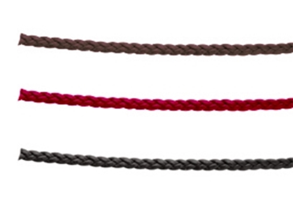 3x1.5mm Braided Leather Strip