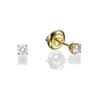 Screw Back Stud Earrings 0.2 ct tw in