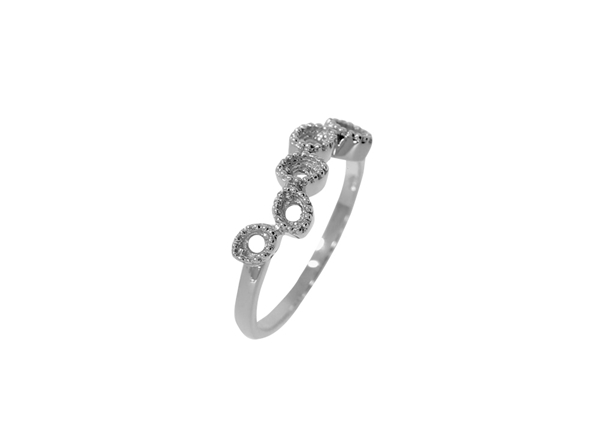 Oval Five Stone Ring
