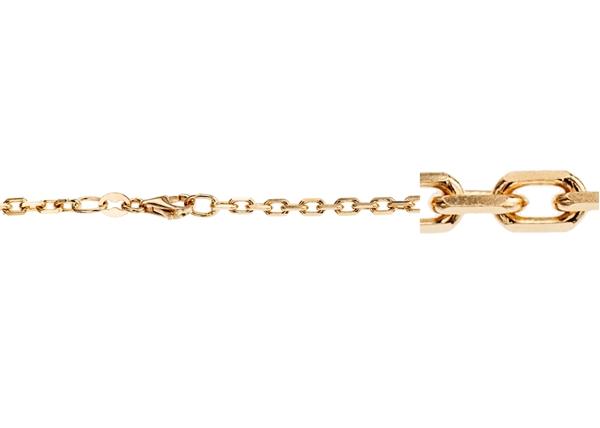 4.4x2.8mm Diamond Cut Belcher Chains