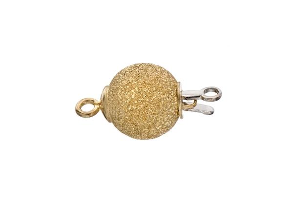 Diamond Cut Ball Bead Clasp