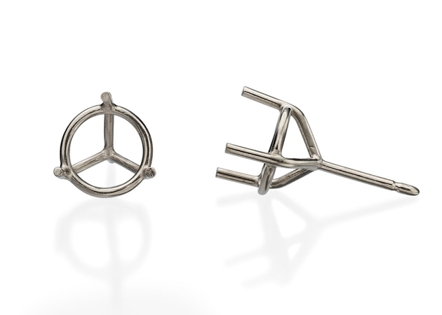 Picture for category 3 Prong Diamond Studs
