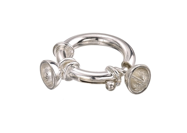 Picture for category Spring Ring Clasp With Cups