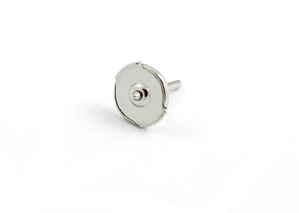 Platinum Alpa Earring Backs Medium