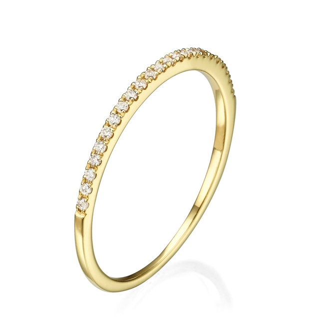 Picture of Half Eternity Wedding Band 0.19 CT TW