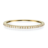 Изображение Half Eternity Wedding Band 0.19 CT TW