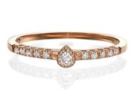 Изображение Engagement  Ring-Pear Shape 0.13 ctw
