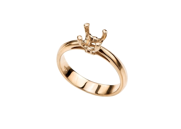 Изображение Cathedral Style Engagement Ring
