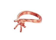 Picture of 5 Prong Twist Ring