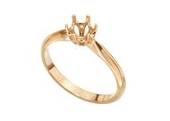Picture of 6 Prong Solitaire Ring