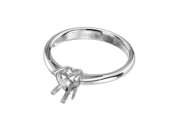 Picture of Diamond Heart Ring