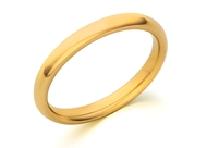Изображение Domed Comfort Fit Wedding Band-2.5mm