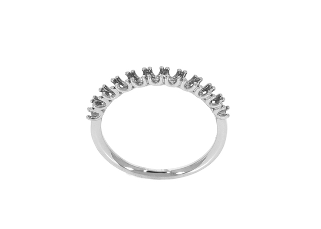 Picture of Diamond Half Eternity Ring 11 Stones