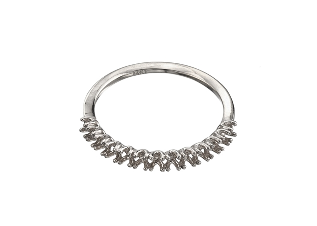 Picture of Diamond Half Eternity Ring 13 Stones