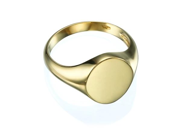 Изображение Oval Signet Ring