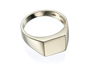 Picture of Rectangle Signet Ring