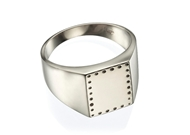 Picture of Engraved Signet Ring - 13X11mm