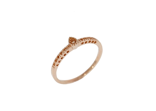 Picture of Semi Mount Ring-Pear Shape