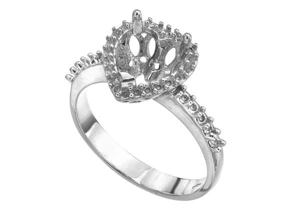 Picture of Heart Engagement Ring