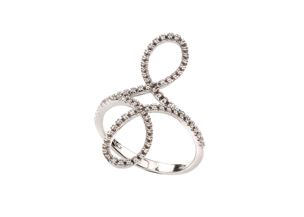 Picture of Diamond Infinity Ring