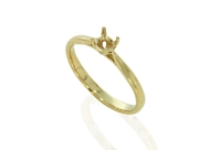Picture of Cathedral Solitaire Rings