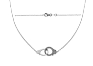 Picture of Handcuffs Pendant  Necklace