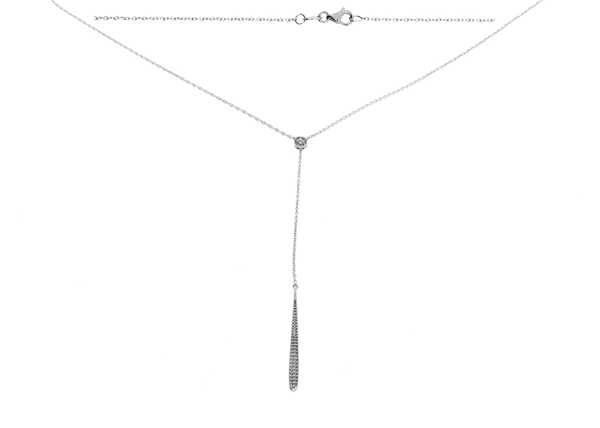 Picture of 1.8mm Cable Necklace with Pendant